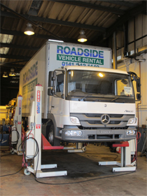 Fleet Maintenance - Paisley, Scotland - Roadside Vehicle Services -